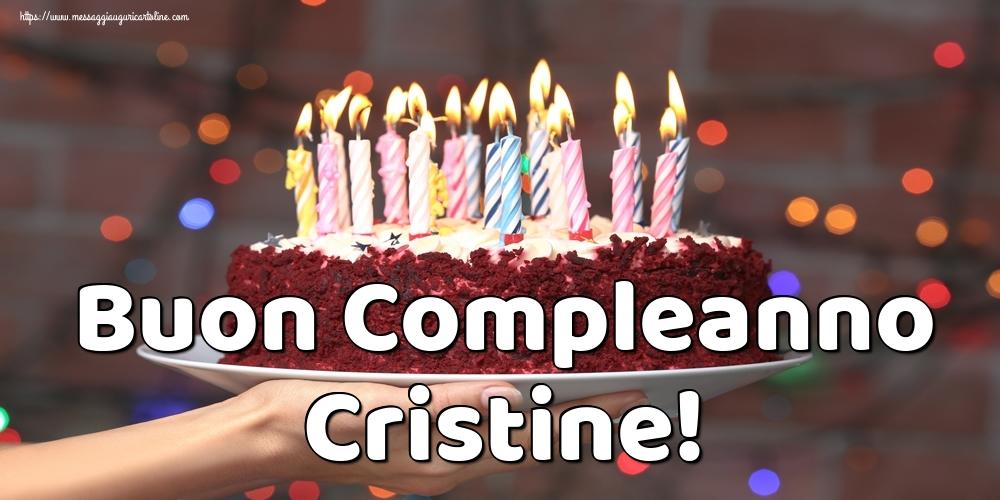 Cartoline di auguri - Buon Compleanno Cristine!