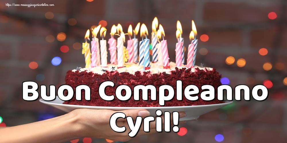 Cartoline di auguri - Buon Compleanno Cyril!