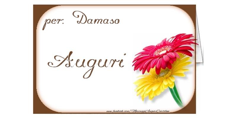 Cartoline di auguri - Auguri, Damaso