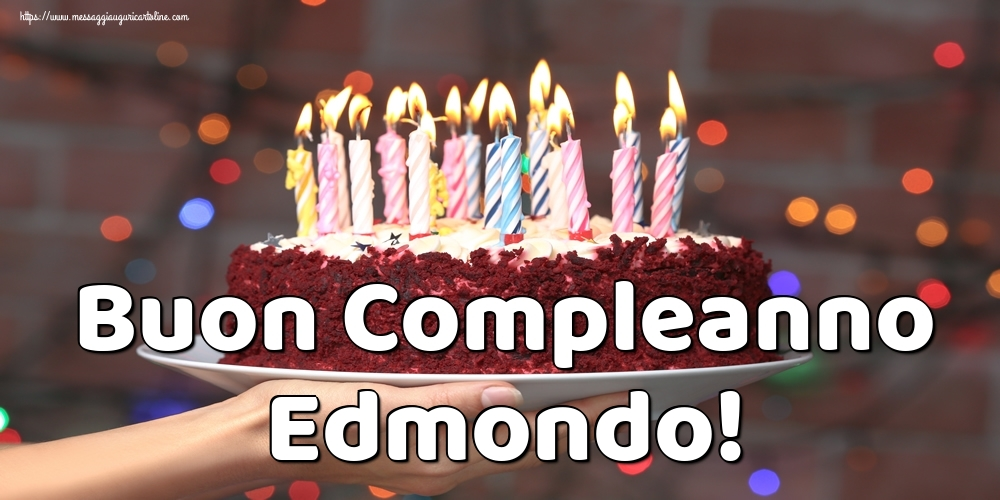 Cartoline di auguri - Buon Compleanno Edmondo!