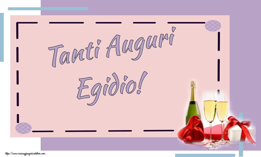 Cartoline di auguri - Tanti Auguri Egidio!
