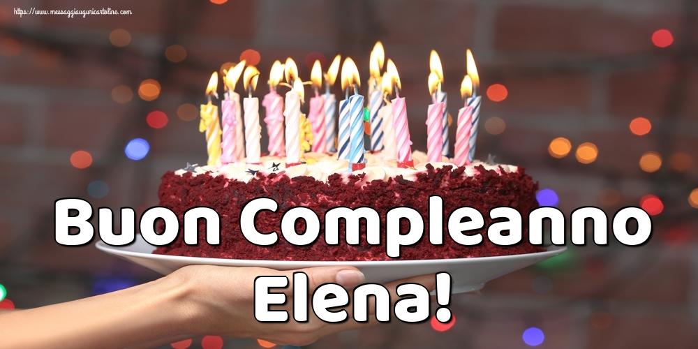Cartoline di auguri - Buon Compleanno Elena!