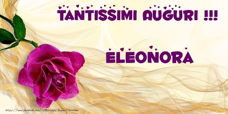 Famoso Tanti auguri Eleonora - Cartoline di auguri per Eleonora KU58