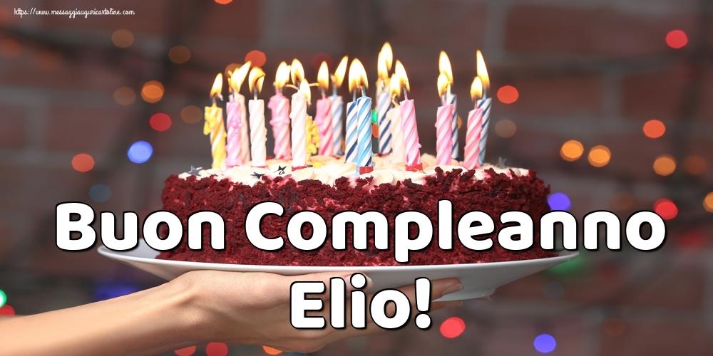 Cartoline di auguri - Buon Compleanno Elio!