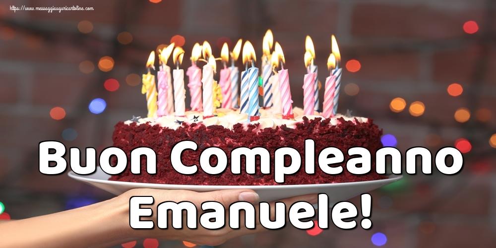 Cartoline di auguri - Buon Compleanno Emanuele!