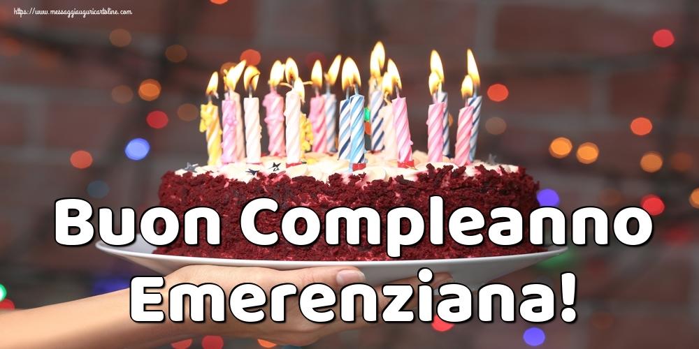 Cartoline di auguri - Buon Compleanno Emerenziana!