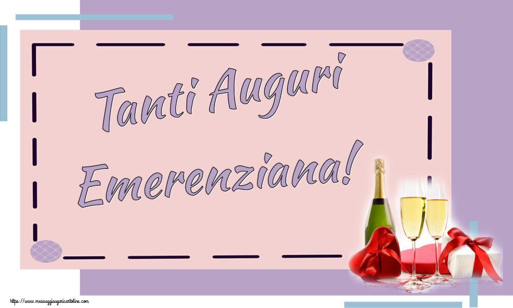 Cartoline di auguri - Tanti Auguri Emerenziana!