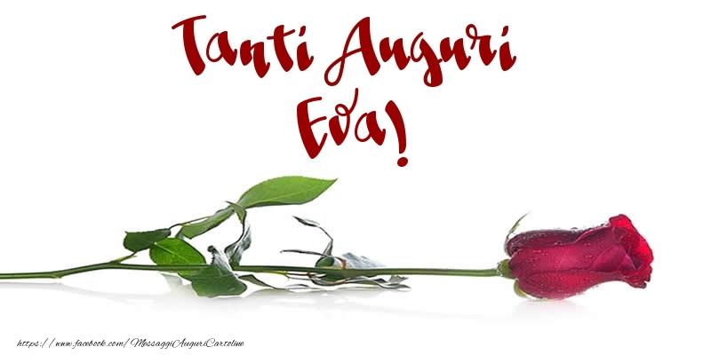 Cartoline di auguri - Tanti Auguri Eva!