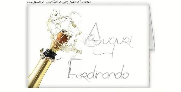 Cartoline di auguri - Auguri, Ferdinando