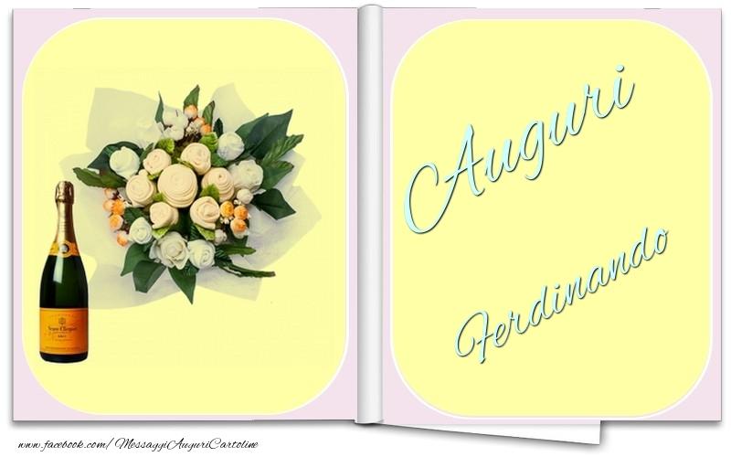 Cartoline di auguri - Auguri Ferdinando