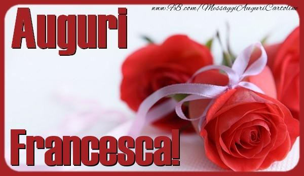 Souvent Tanti Auguri Francesca! - Cartoline di auguri per Francesca  OD74