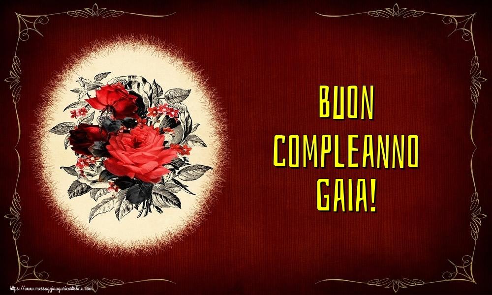 Cartoline di auguri - Buon compleanno Gaia!