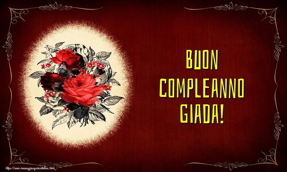 Cartoline di auguri - Buon compleanno Giada!