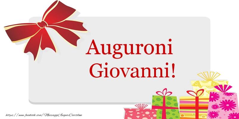Auguri di buon compleanno giovanni cartoline di auguri for Cartoline per auguri