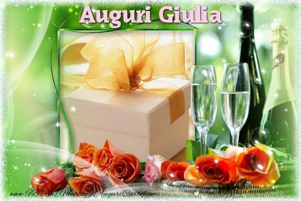 Auguri di buon compleanno giulia cartoline di auguri for Cartoline per auguri