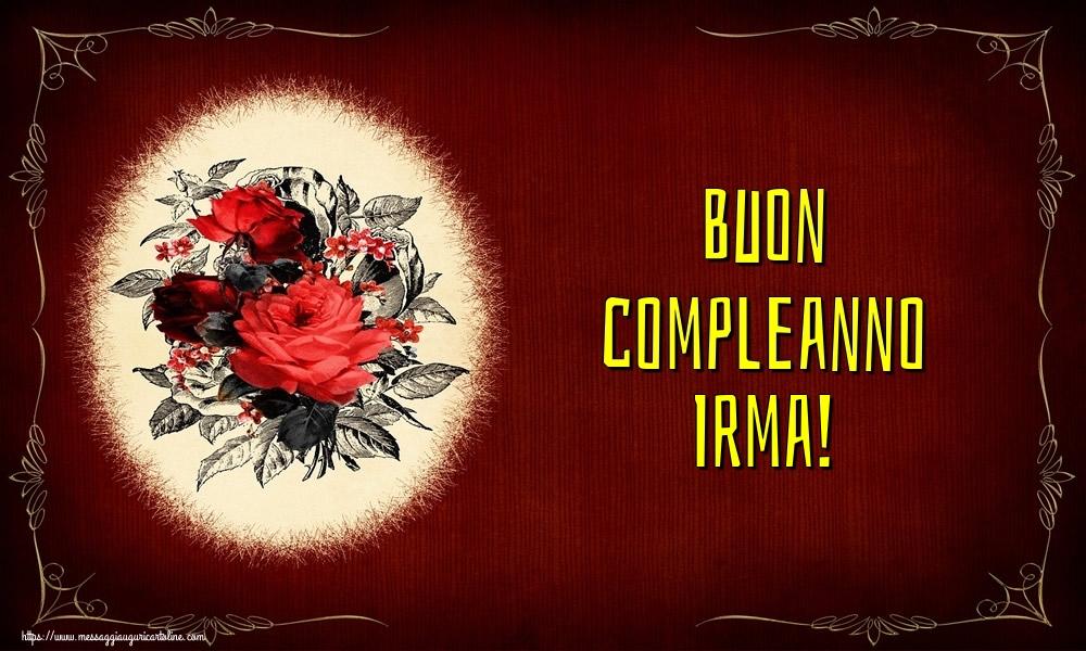 Cartoline di auguri - Buon compleanno Irma!