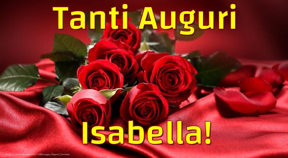 Cartoline di auguri - Tanti Auguri Isabella!