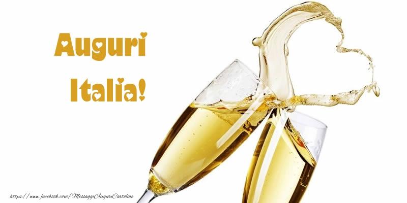 Cartoline di auguri - Auguri Italia!