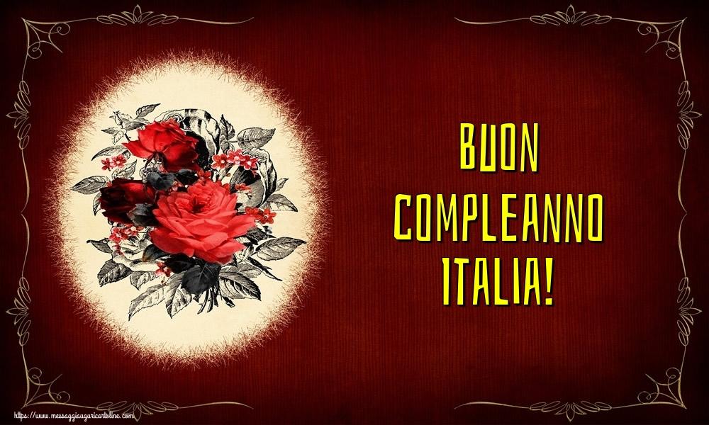 Cartoline di auguri - Buon compleanno Italia!
