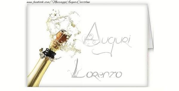 Cartoline di auguri - Auguri, Lorenzo