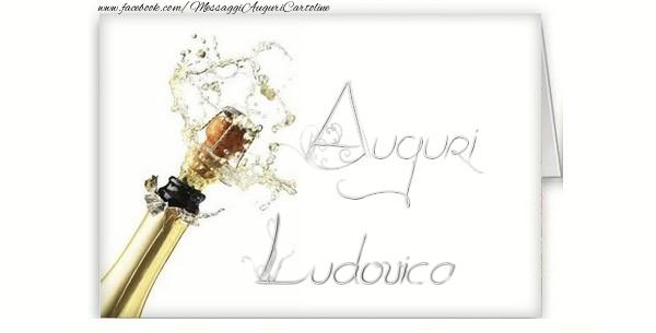 Cartoline di auguri - Auguri, Ludovica