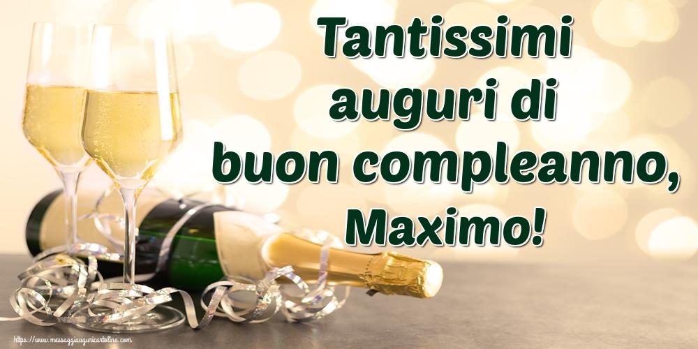 Cartoline di auguri - Tantissimi auguri di buon compleanno, Maximo!
