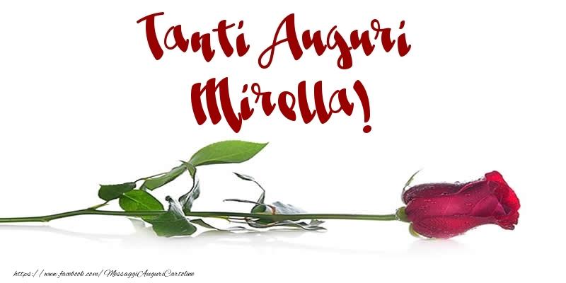 Cartoline di auguri - Tanti Auguri Mirella!