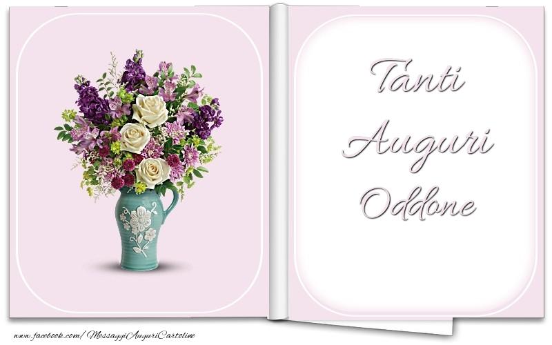 Cartoline di auguri - Tanti Auguri Oddone