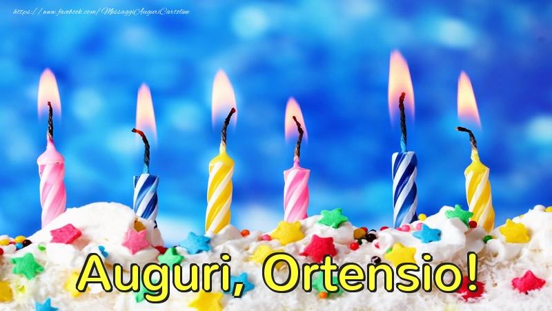Cartoline di auguri - Auguri, Ortensio!