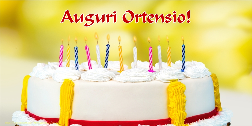 Cartoline di auguri - Auguri Ortensio!