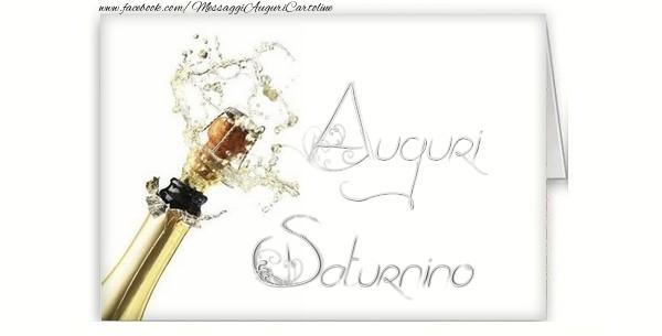 Cartoline di auguri - Auguri, Saturnino