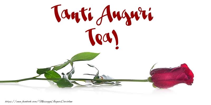 Cartoline di auguri - Tanti Auguri Tea!
