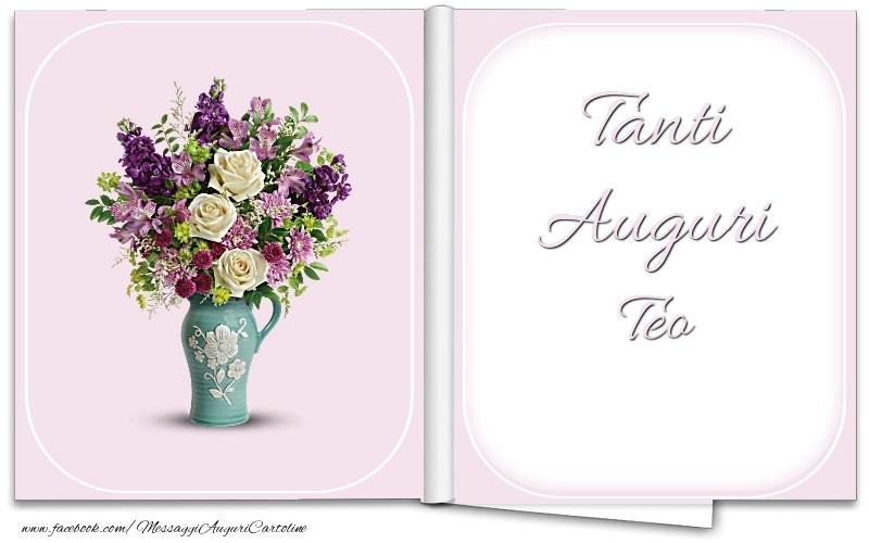 Cartoline di auguri - Tanti Auguri Teo
