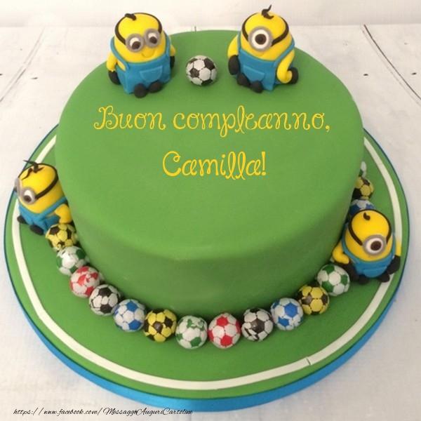 Cartoline per bambini - Buon compleanno, Camilla!