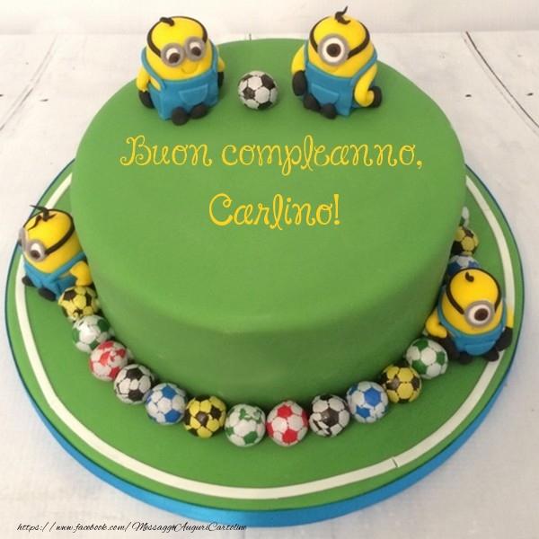 Cartoline per bambini - Buon compleanno, Carlino!