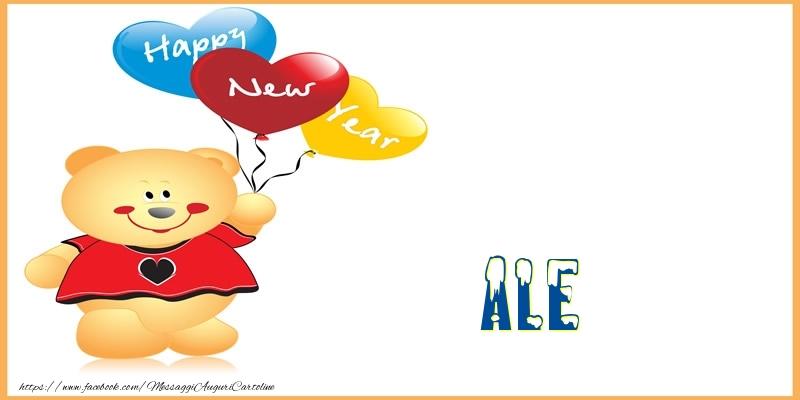 Cartoline di Buon Anno - Happy New Year Ale!