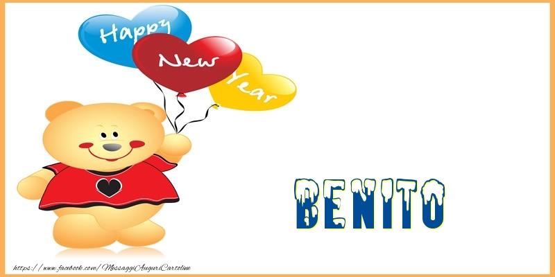 Cartoline di Buon Anno - Happy New Year Benito!