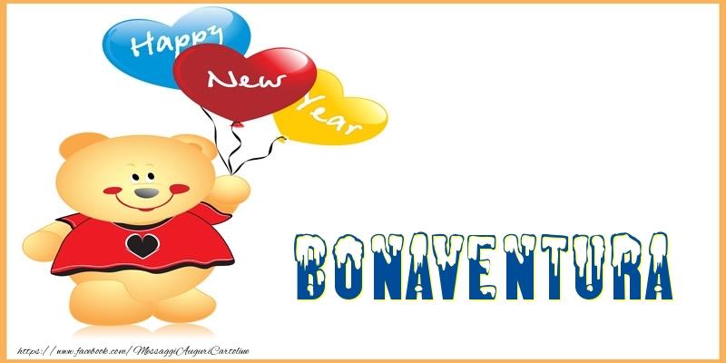 Cartoline di Buon Anno - Happy New Year Bonaventura!