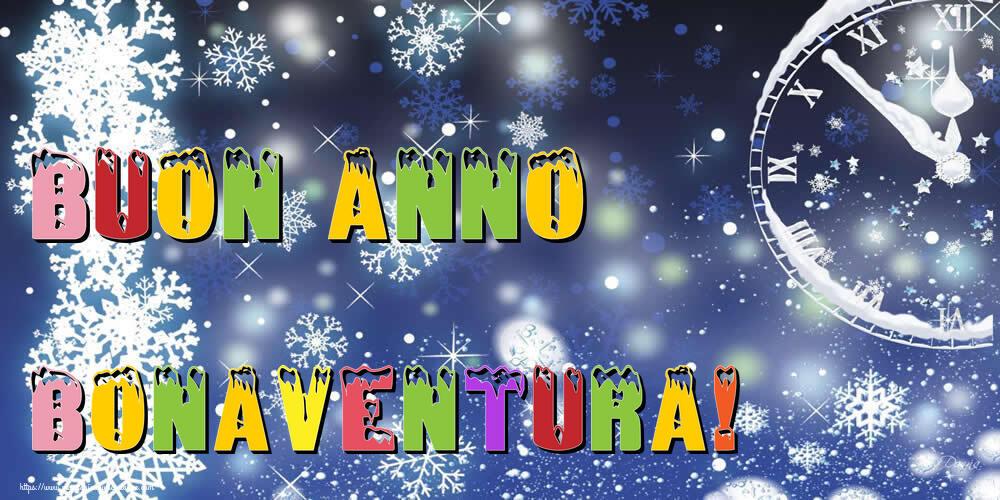 Cartoline di Buon Anno - Buon Anno Bonaventura!