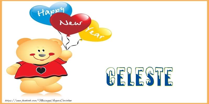 Cartoline di Buon Anno - Happy New Year Celeste!