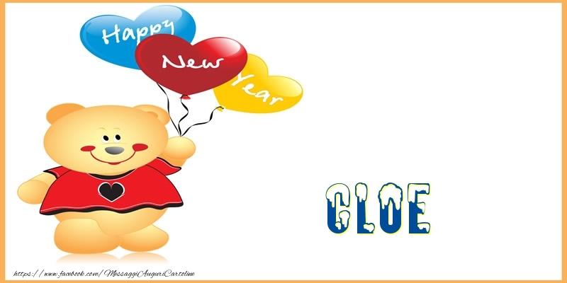 Cartoline di Buon Anno - Happy New Year Cloe!