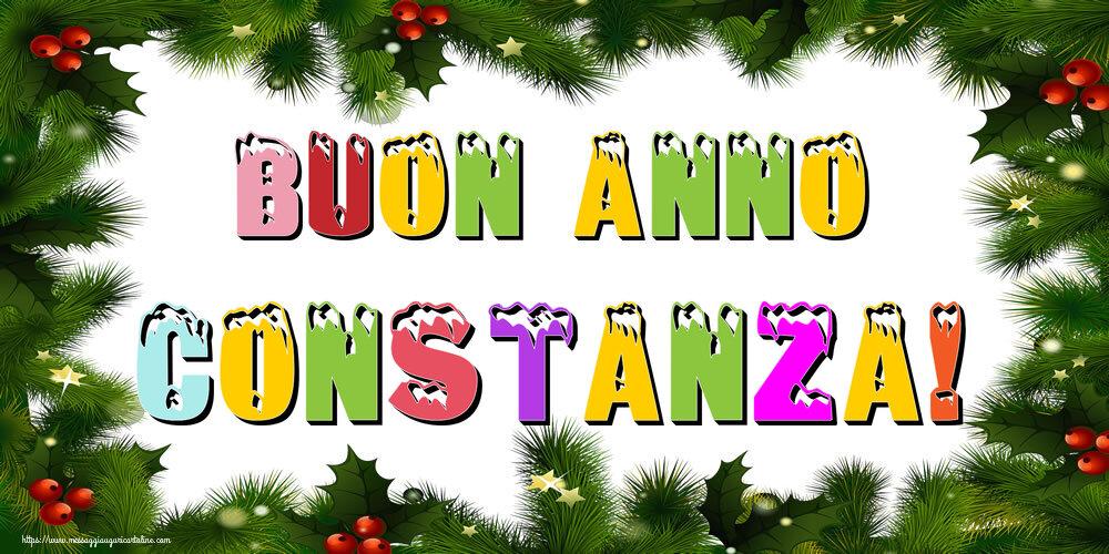 Cartoline di Buon Anno - Buon Anno Constanza!