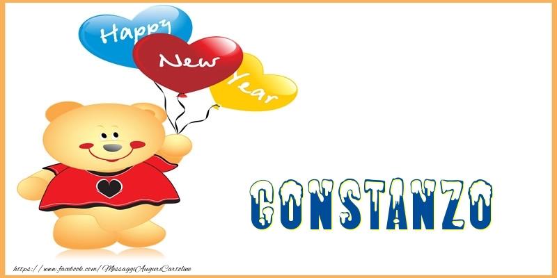 Cartoline di Buon Anno - Happy New Year Constanzo!