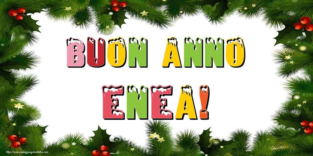 Cartoline di Buon Anno - Buon Anno Enea!