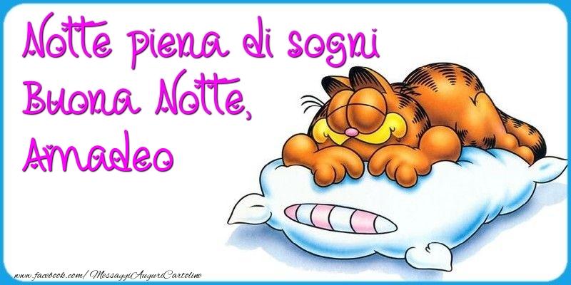 Cartoline di buonanotte - Notte piena di sogni Buona Notte, Amadeo
