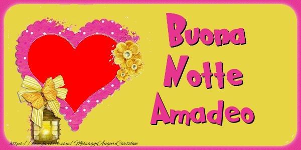 Cartoline di buonanotte - Buona Notte Amadeo
