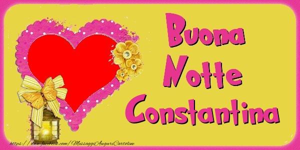 Cartoline di buonanotte - Buona Notte Constantina