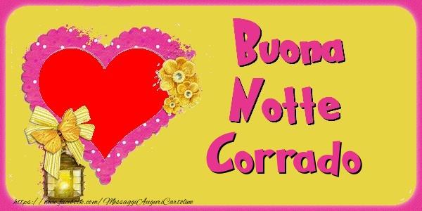 Cartoline di buonanotte - Buona Notte Corrado