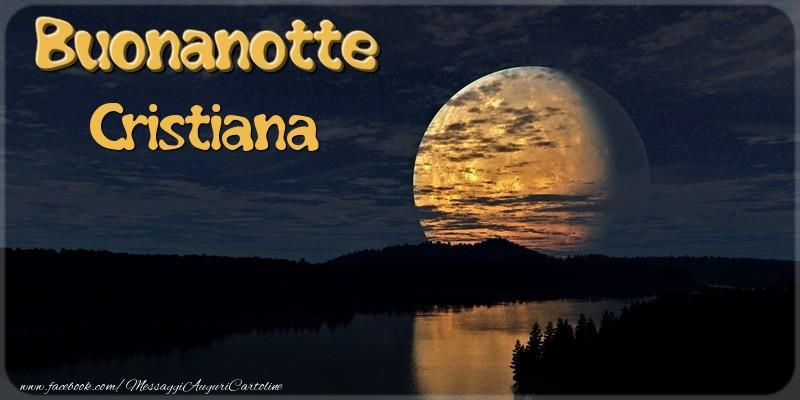 Cartoline di buonanotte - Buonanotte Cristiana