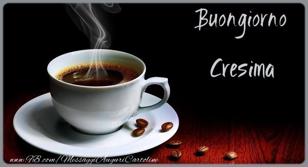 Cartoline di buongiorno - Buongiorno Cresima